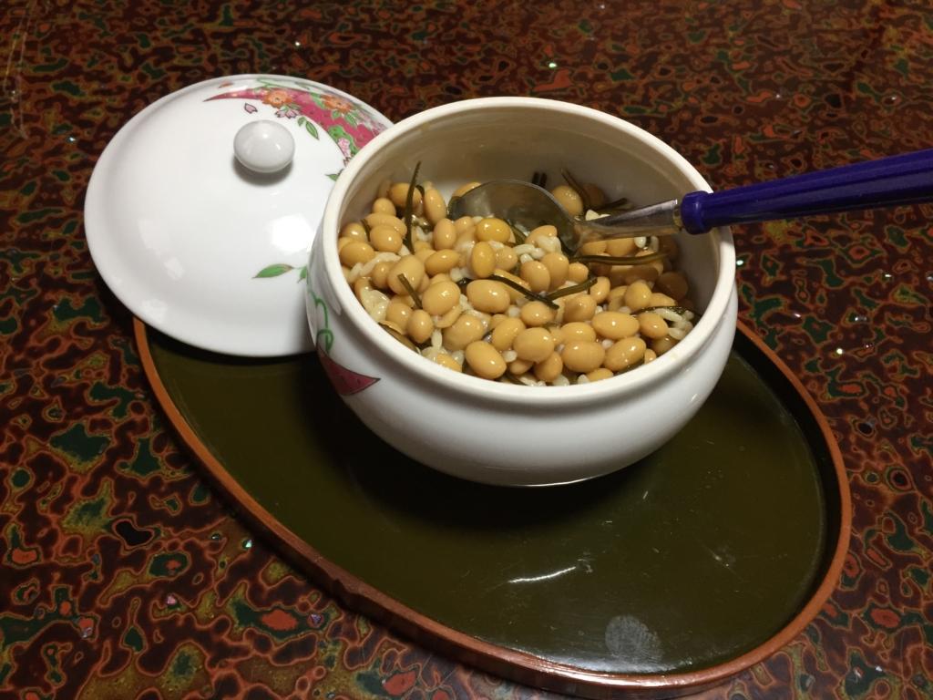 鶴岡市に住む「はる奈おばあちゃん」の塩納豆